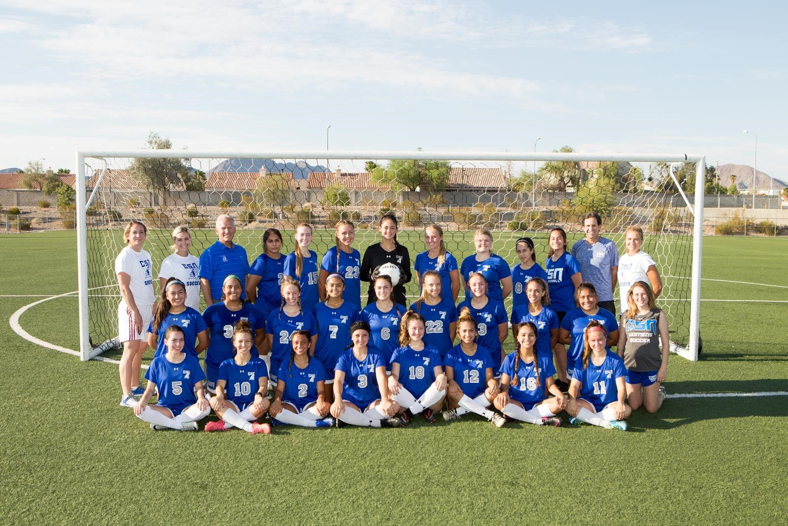 2017 Women's Soccer Roster - College of Southern Nevada